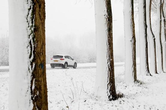 Meeste sneeuw in periode tussen de spitsen [update]