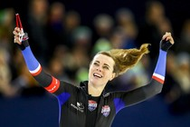 Marije Joling is zondag Nederlands kampioen geworden © ANP
