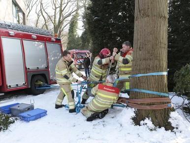 Brandweer in de problemen bij zorgcentrum Laren