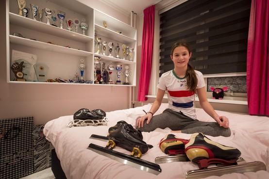 Angel Daleman, 11 jaar: 'Mijn doel zijn de Spelen van 2026'