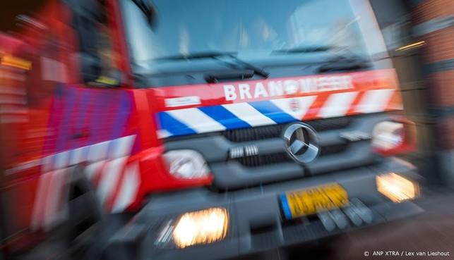 Restaurant Egmond-Binnen door brand verwoest