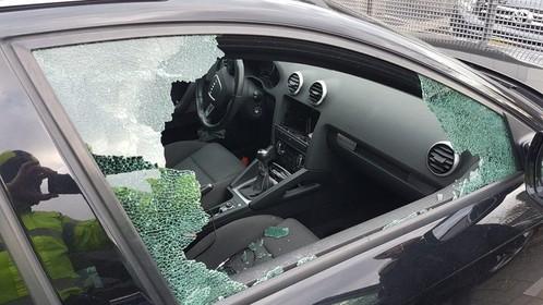 Vakantie Duits echtpaar voorbij na autokraak in Volendam