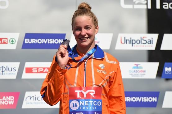 EK-brons voor Zaandamse zwemster Vermeulen, opnieuw goud Van Rouwendaal