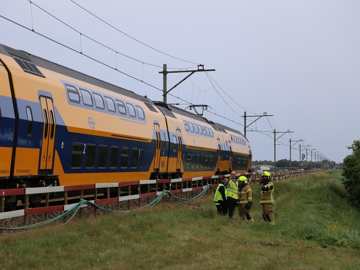 Treinverkeer tussen Den Helder en Anna Paulowna tijdelijk stil door spoorloper