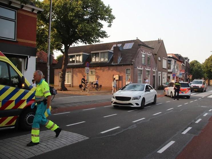 Fietser geschept in Katwijk