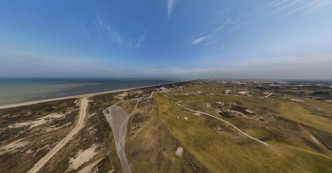 Virtuele rondvlucht boven Hollandse Duinen met dank aan dronepionier