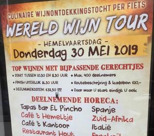 Haarlems restaurant Hout zegt Wereld Wijn Tour af vanwege problemen, vervanger gevonden