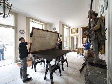 Zeldzame landkaart in Warmonds kasteel gedigitaliseerd