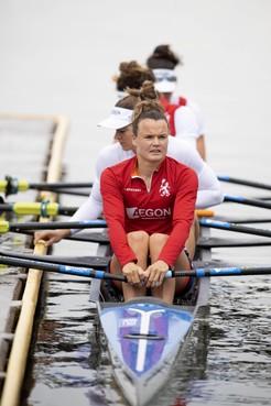 Leidse Nicole Beukers op tijd fit genoeg voor WK roeien: 'Als de dood dat het weer mis zou gaan'