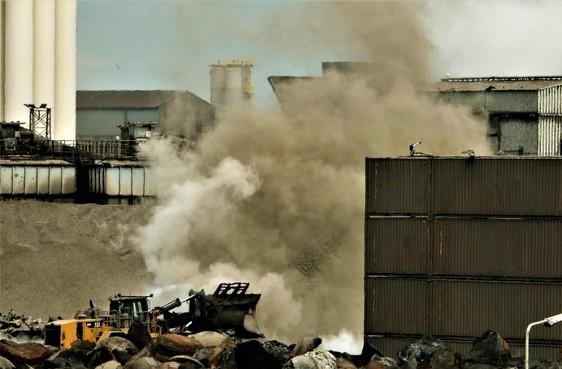 Milieu-actievoerders Wijk aan Zee voelen zich gesterkt door Harsco-vonnis
