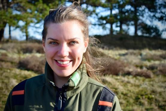 Anna Sprenkeling Texels nieuwe boswachter