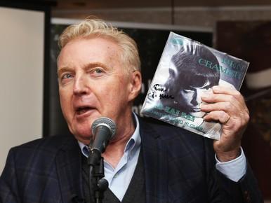André van Duin met Cramers nieuwe cd.