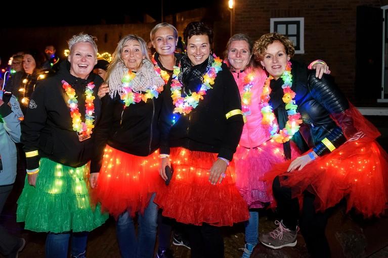 Populariteit van Lichtjesloop Den Helder groeit; al bijna 500 deelnemers