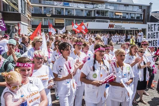Acties verpleging voelbaar in hele Alkmaarse ziekenhuis