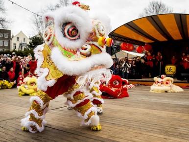Chinees Nieuwjaar op de Beverwijkse Bazaar