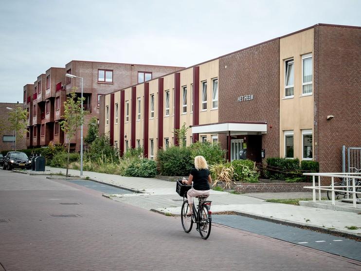 De daklozenopvang aan de Jan de Heemstraat, © Foto Erna Faust/ Luciënne van der Stouwe