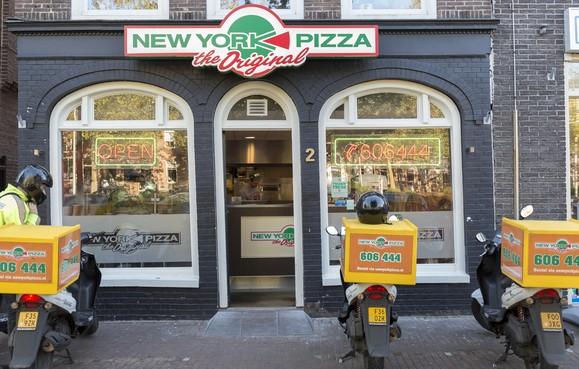 Pizza niet gewild in oude centra