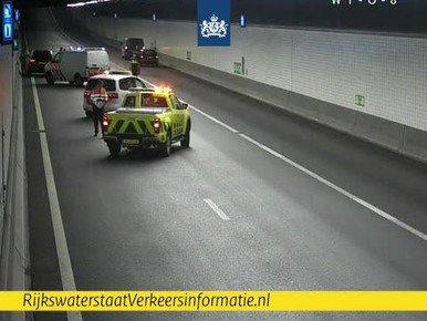 Wijkertunnel richting Alkmaar weer open na ongeluk
