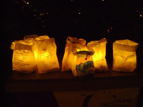 Al dik duizend kaarsenzakken verkocht voor Samenloop Den Helder
