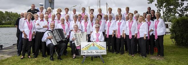 De Delta Singers gaan de regio in met kerstliedjes