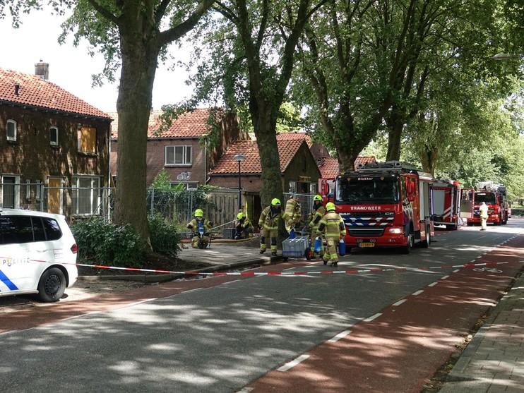Brand in sloopwoning Hoorn