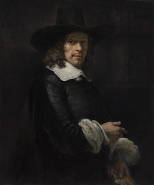 Leidse hoogleraar op portret van Rembrandt