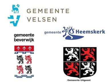 Deze gemeenten maken de verkiezing IJmonder van het Jaar mede mogelijk.