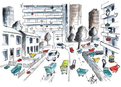 Haarlemse supermarkten kampen met 'verdwijnen' van materiaal: Winkelwagen blijft geliefd hebbedingetje