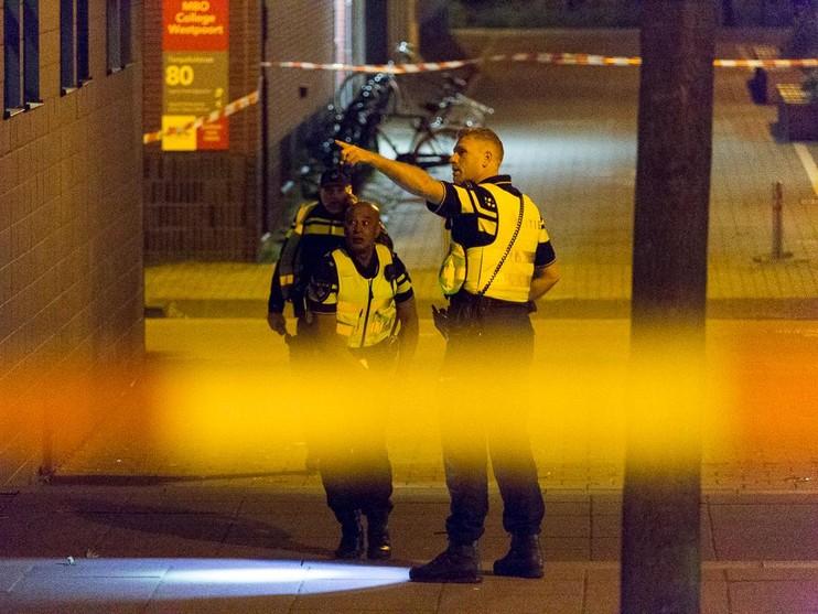 Arrestatie voor schieten met antitankwapen op kantoorpand Sloterdijk