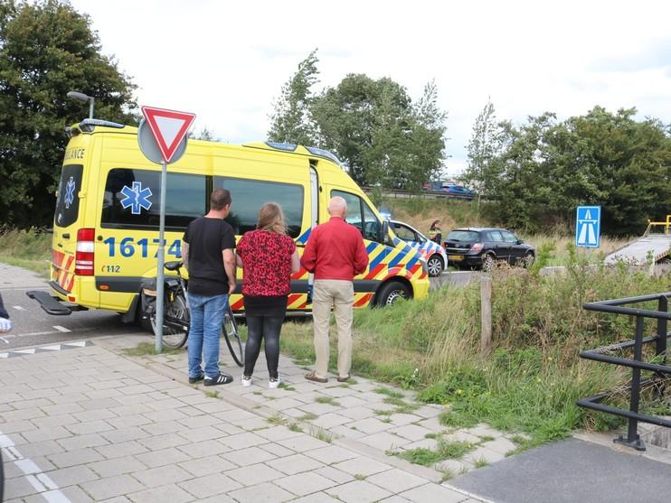 Files bij oprit A44 bij Sassenheim wegens ongeval