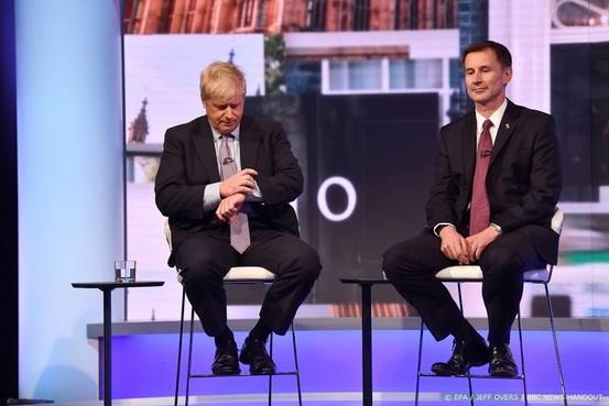 Johnson en Hunt strijden om Brits premierschap