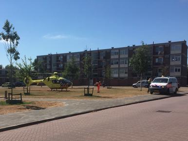 Man gewond bij val uit raam in Den Helder