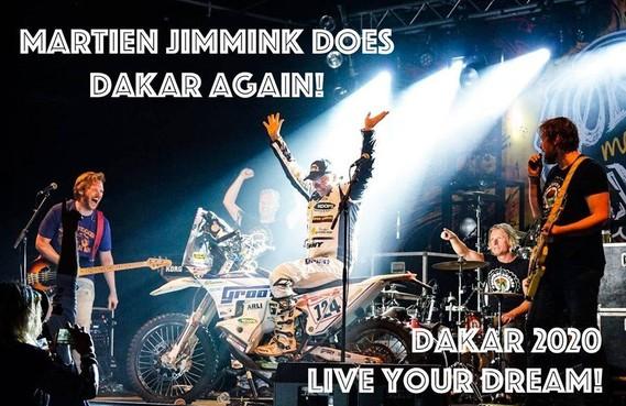 Oudste rijder? Hij doet het toch nog een keer: Martien Jimmink uit Kolhorn rijdt de Dakar in 2020