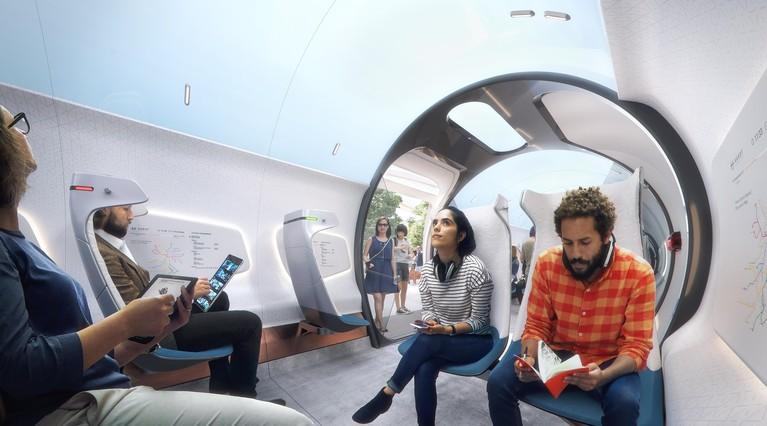 Met hyperloop in 50 minuten van Amsterdam naar Frankfurt