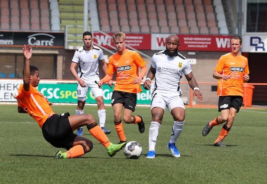 Jong FC Volendam heeft nog één zege nodig voor de titel