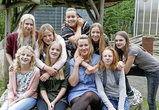 Kwetsbare meiden helpen missie voor Enkhuizense Lysia van der Krogt
