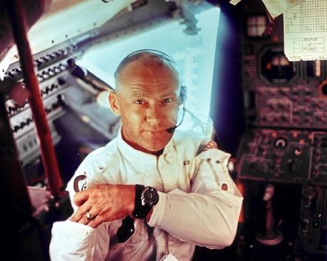 In 60 seconden: de tweede man op de maan