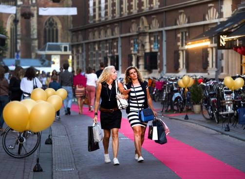 Zaterdag 25 mei Shopping night in Haarlem: winkelen tot middernacht