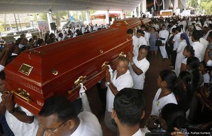 Tientallen gewonden Sri Lanka overleden