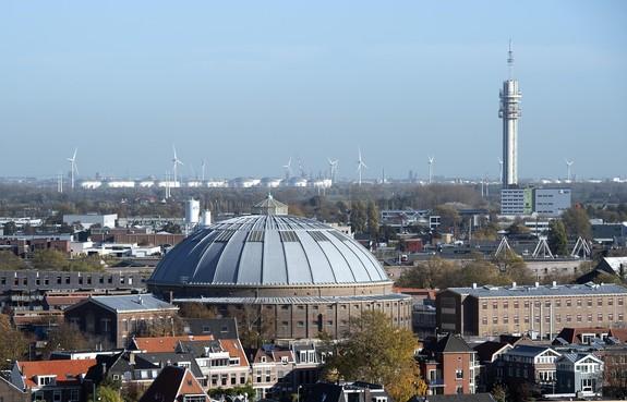 Architect Asselbergs legt beslag op koepelcomplex Haarlem wegens uitblijven betaling