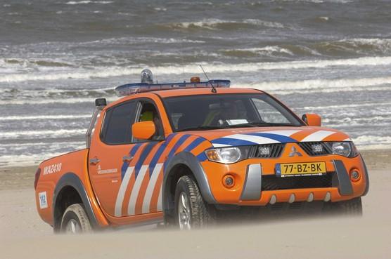 Reddingsbrigade Wijk aan Zee zit zonder strandauto