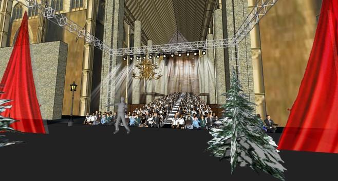 Musical 'Scrooge' vult de hele kerk