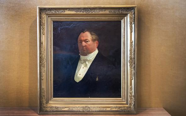 Teruggevonden portret 19e-eeuwse grootgrondbezitter wordt gerestaureerd