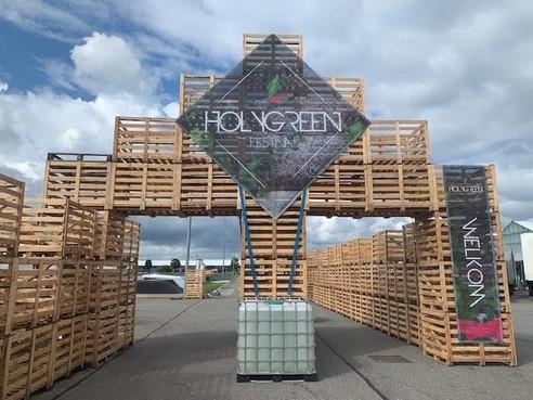 ITC-terrein Hazerswoude-Boskoop krijgt kleurtje voor Holygreen Festival