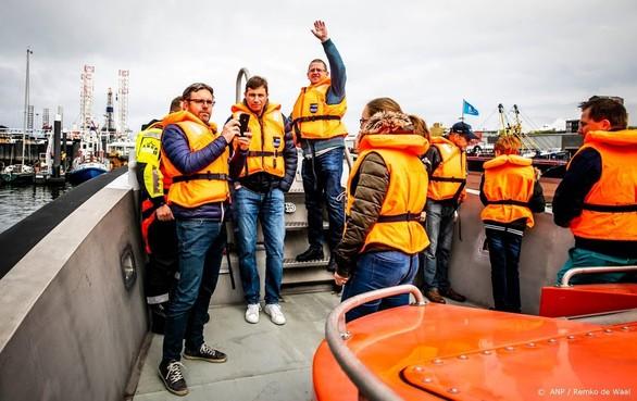 400 vrijwilligers 'gered' van veerboot