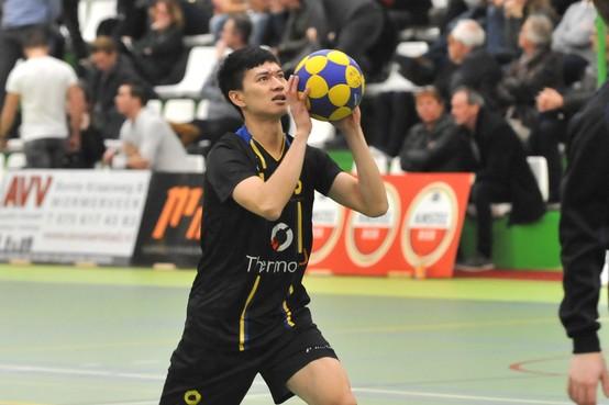 Taiwanese korfballer 'Rex' is niet ingetogen
