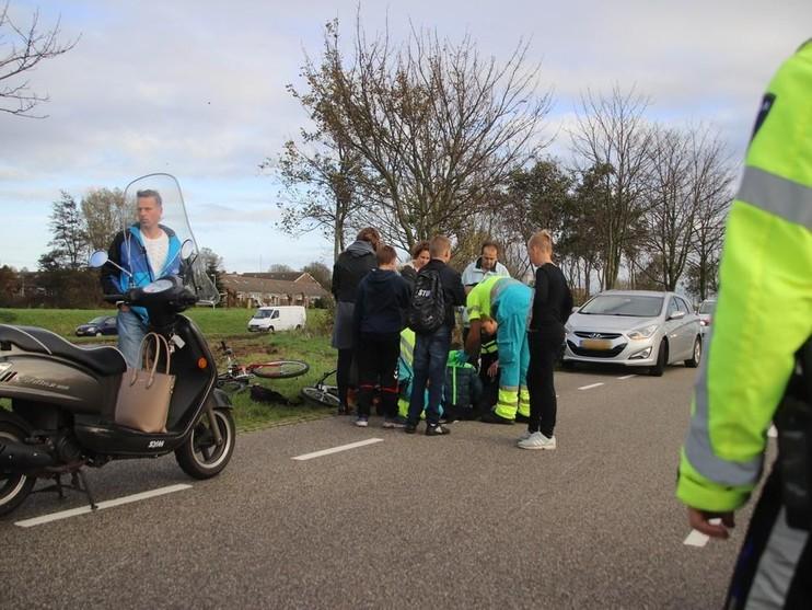 Fietser gewond bij botsing met snorscooter in Valkenburg