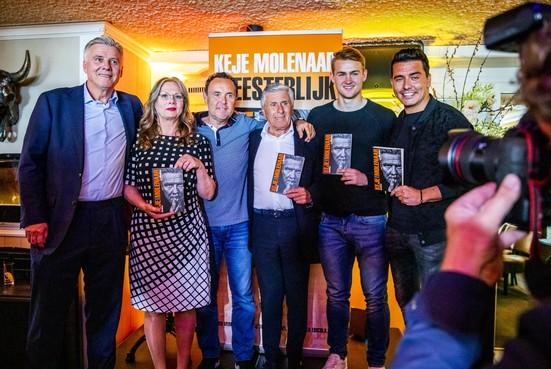 Boek over Keje Molenaar: 'Met míjn karakter had hij honderd interlands gespeeld'