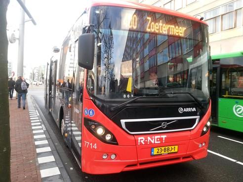 Inloop over R-nethaltes Katwijk