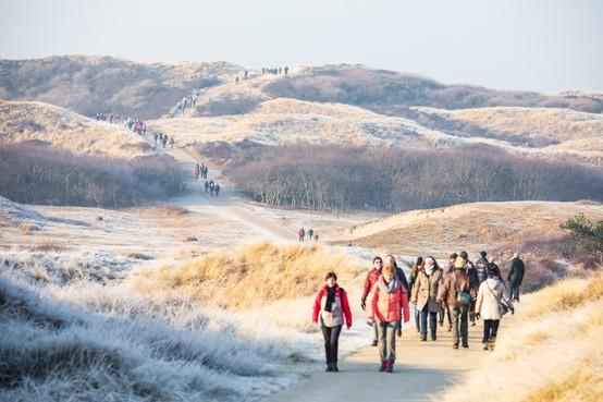 Oproep aan deelnemers Egmond Wandel Marathon: ruim zwerfvuil op strand en in duinen op